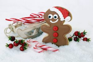 Gingerbread is delicious. Yummy!